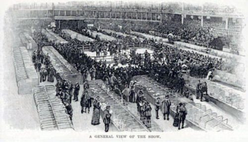 Example of an 1880's benching setup