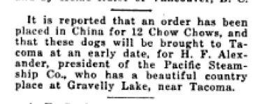 This is the small snippet from an August 1922 article that started my search for more info...little did I know!