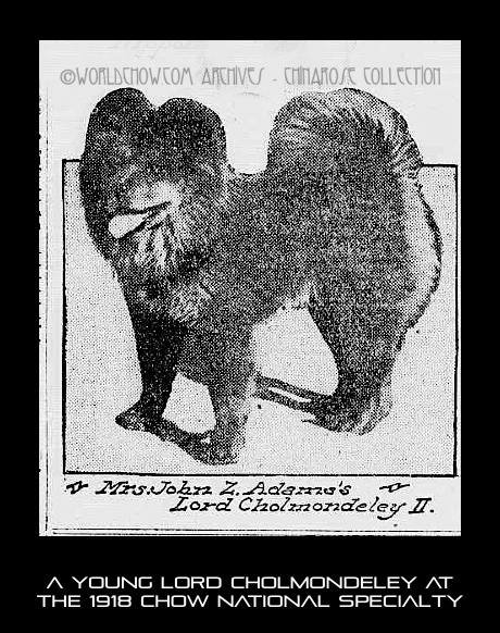 Chow National 1918