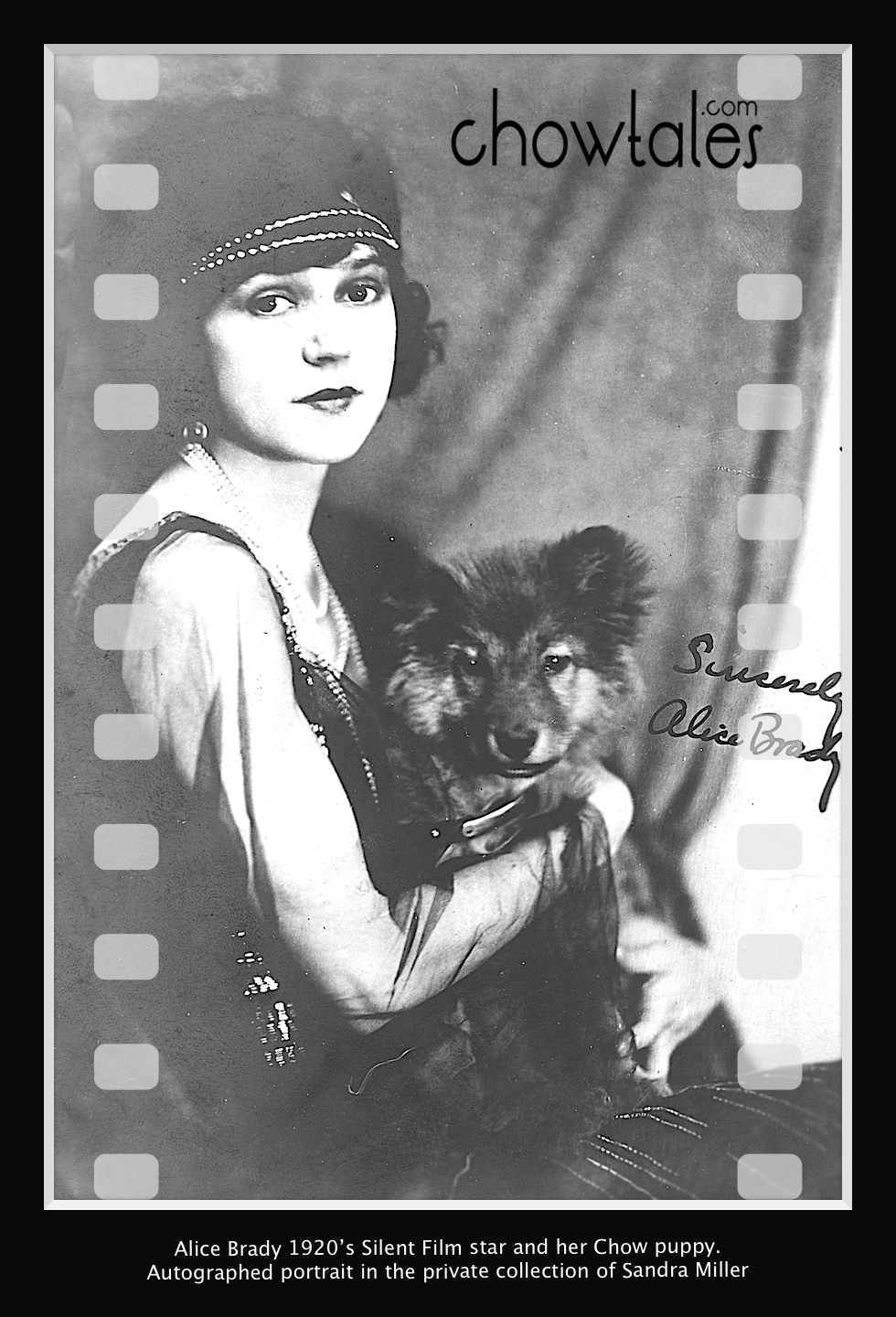 Alice Brady Actress signed 1 - Version 2 (1 of 1)