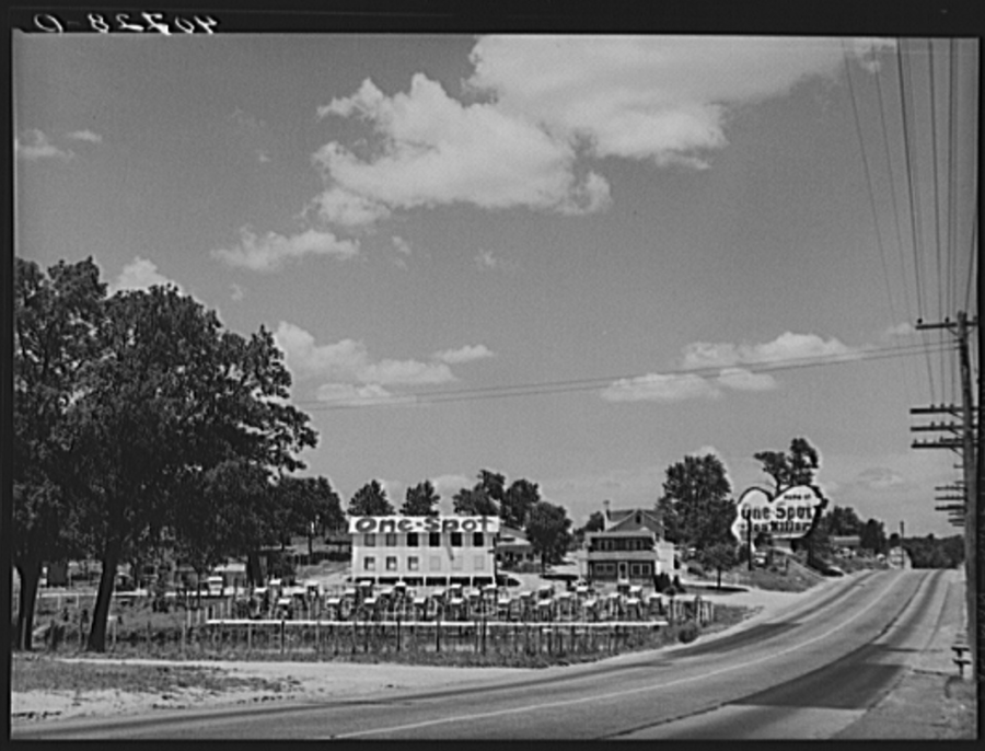 One Spot Town 1940 Library of Congress