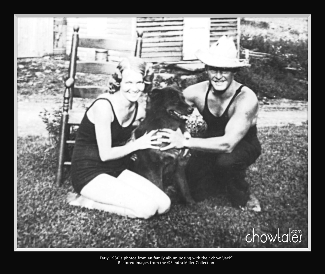 Early 1930's family with their Chow Jack 12016-03-22 (1)